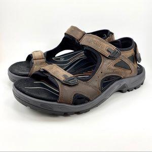 Ecco Off Road Yucatan Receptor Leather Sandal 47